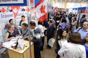 Finding a job at the Opportunities Overseas Expo