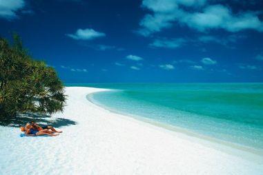 generic beach AU