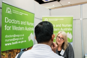 Western Australia has a huge requirement for health workers.